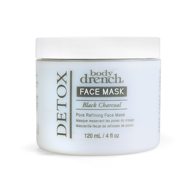 Black Charcoal Face Mask BODY DRENCH Detox 120ml