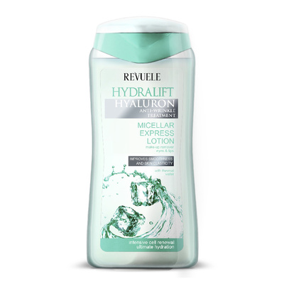Micellar Lotion Express Makeup Remover REVUELE Hydralift Hyaluron 200ml