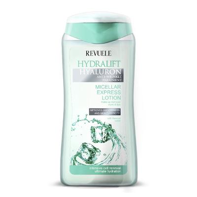 Micelarni losion za uklanjanje šminke REVUELE Hydralift Hyaluron 200ml