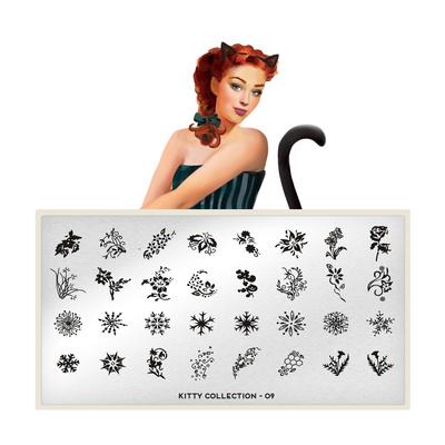 Stamping Nail Art Image Plate MOYOU Kitty 09