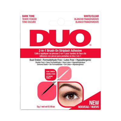 Brush on Striplash Adhesive 2in1 DUO Clear&Dark 5g
