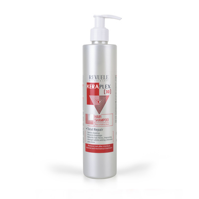Hair Shampoo Reconstruction REVUELE Keraplex 3D 335ml