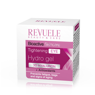 Tightening Eye Hydro Gel REVUELE Bioactive 3D Hyaluron&Antioxidants 50ml
