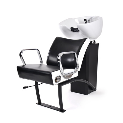 Ceramic Shampoo Chair NS-5515 Black & White