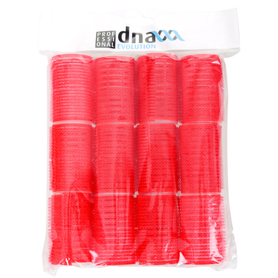Velcro Rollers KIEPE Red 36x63mm 12pcs