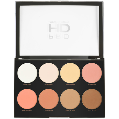 Contouring Palette Pro HD REVOLUTION MAKEUP Mega Matte Amplified 32g