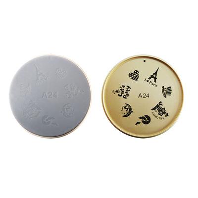Šablon silikonski za Nail Art A24