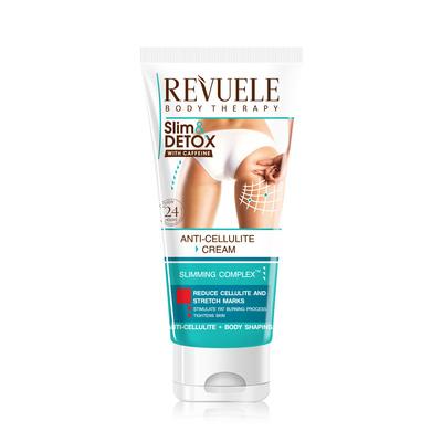 Anticelulit masažna krema sa kofeinom REVUELE Slim&Detox 200ml