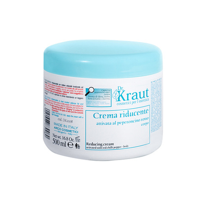Termoaktivna anticelulit krema za telo sa čili paprikom DR KRAUT DK1008 500ml