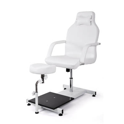 Pedicure chair with hydraulic DP5711 with adjustable footrest
