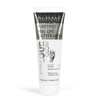 Purifying Peel Off Glitter Mask REVUELE Color Glow 80ml