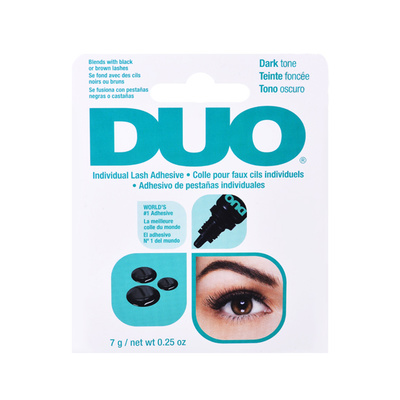 Waterproof Individual Lash Adhesive DUO Dark 7g