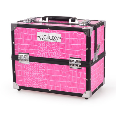 Makeup, Cosmetics and Tool Case GALAXY TC-3201HPC pink