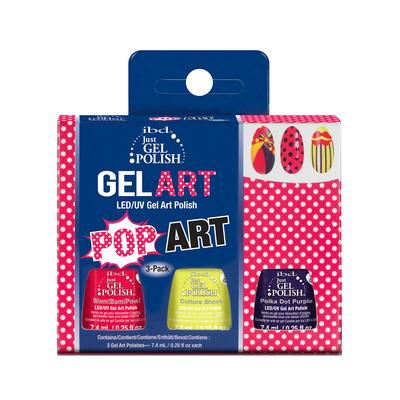Set  Just Gel Polish IBD Pop Art 3x7.4ml