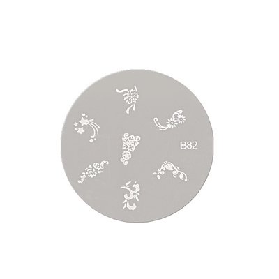 Disc Round Stencil ASN B82