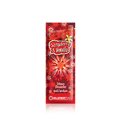 Tanning cream SUPERTAN Strawberry&Vanilla 15ml