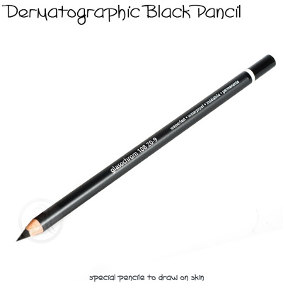 Permanent Makeup Contouring Pencil Black TP200