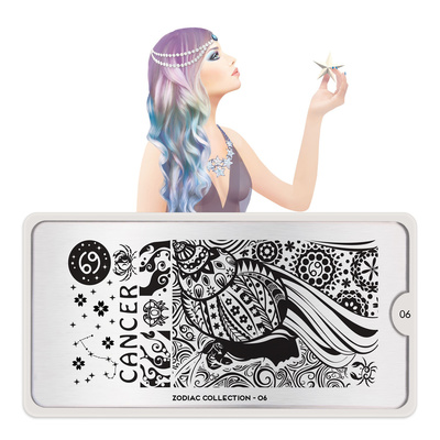 Stamping Nail Art Image Plate MOYOU Zodiac 06