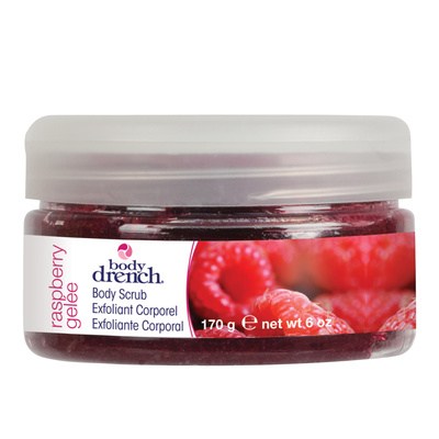 Piling Scrub BODY DRENCH Raspberry 170g