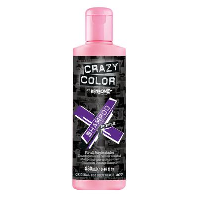 Šampon za farbanu kosu bez sulfata CRAZY COLOR Ljubičasti 250ml