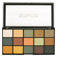 Eyeshadow Palette REVOLUTION MAKEUP Reloaded Iconic Division 16.5g