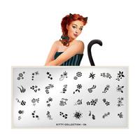 Stamping Nail Art Image Plate MOYOU Kitty 06