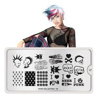 Šablon za pečate MOYOU Punk 07