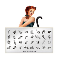 Šablon za pečate MOYOU Kitty 05