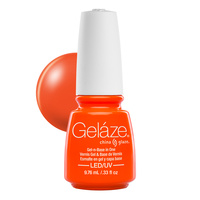 Trajni lak za nokte UV/LED GELAZE Orange Knockout 9.76ml