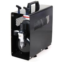 Klipni bezuljni kompresor za airbrush AS189-A sa metalnim kućištem i rezervoarom od 3l