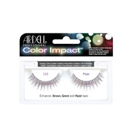 Strip Eyelashes ARDELL Color Impact Plum
