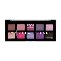 Paleta senki i pigmenata NYX Professional Makeup Mystic Petals Midnight Orchid 8g