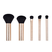 Eye Brush Set CALA Pro Essentials Mini Black 76809 6pcs