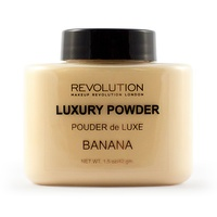 Završni puder u prahu REVOLUTION MAKEUP Luxury Powder Banana 42g