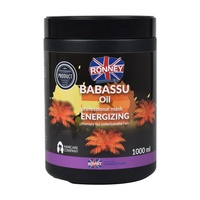 Hair Mask for Color and Matte Hair Babassu Oil Energizing RONNEY 1000ml