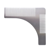 Češalj za oblikovanje i definisanje brade G-111A Metalni