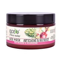 Hair Mask for Revitalising and Volumising ECO U Artichoke & Beetroot 250ml