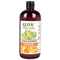 Shampoo for Dry and Damaged Hair ECO U Spinach & Pumpkin 500ml