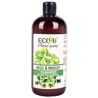 Shampoo for Weak & Falling Out Hair ECO U Basil & Parsley 500ml