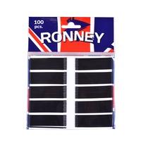 Hair Bobby Pins Black 6cm RONNEY 100pcs