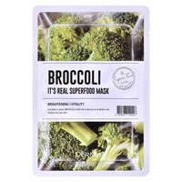 Korejska sheet maska za ujednačen ten DERMAL Superfood brokoli 25g