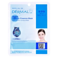 Korean Sheet Moisturizing and Refining Mask DERMAL Collagen Essence Aqua 23g