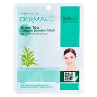 Korean Sheet Firming Mask DERMAL Collagen Essence Green Tea 23g
