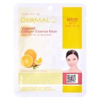Korean Sheet Firming and Brightening Mask DERMAL Collagen Essence Vitamin 23g
