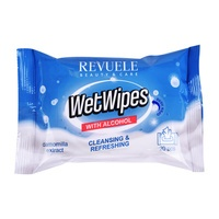 Wet Wipes with Alcohol REVUELE Camomilla 20/1