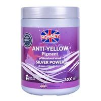 Maska protiv neželjenih žutih tonova na kosi RONNEY Silver Power Anti-Yellow 1000ml
