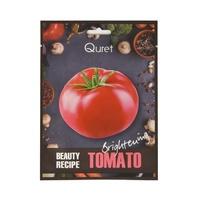 Korean Sheet Brightening Mask QURET Beauty Recipe Tomato 25g