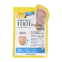 Pedikir čarape za eksfolijaciju stopala DOUBLE & ZERO Double Effect 40ml