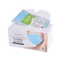 Three-Ply Protective Face Masks PL01-50-1 SPA NATURAL 50pcs