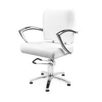 Frizerska radna stolica sa hidraulikom NS 6006A Bela